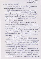 [Letter to Clara Breed from Katherine Tasaki, Poston, Arizona, September 16, 1943]