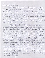 [Letter to Clara Breed from Louise Ogawa, Poston, Arizona, May 14, 1943]