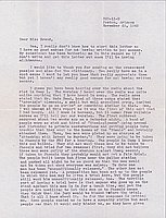 [Letter to Clara Breed from Fusa Tsumagari, Poston, Arizona, November 23, 1942]