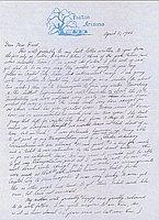 [Letter to Clara Breed from Fusa Tsumagari, Poston, Arizona, April 5, 1944]