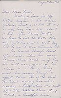 [Letter to Clara Breed from Louise Ogawa, Poston, Arizona, August 27, 1942]