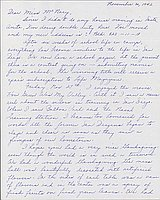 [Letter to Helen McNary from Louise Ogawa, Poston, Arizona, November 30, 1942]