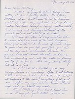 [Letter to Helen McNary from Louise Ogawa, Poston, Arizona, January 27, 1943]