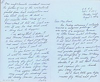 [Letter to Clara Breed from Fusa Tsumagari, Arcadia, California, August 3, 1942]