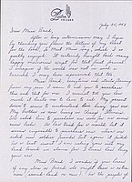 [Letter to Clara Breed from Louise Ogawa, Poston, Arizona, July 25, 1943]