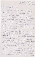 [Letter to Clara Breed from Tetsuzo (Ted) Hirasaki, Newell, California, December 3, 1943]