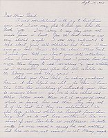 [Letter to Clara Breed from Louise Ogawa, Poston, Arizona, September 27, 1942]