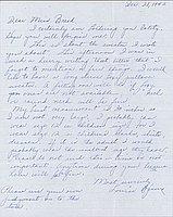 [Letter to Clara Breed from Louise Ogawa, Poston, Arizona, December 28, 1942]