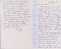 [Letter to Clara Breed from Fusa Tsumagari, Minneapolis, Minnesota, January 14, 1945]