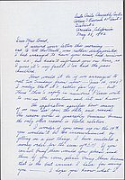 [Letter to Clara Breed from Fusa Tsumagari, Arcadia, California, May 28, 1942]