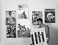 [Samurai Club posters, California, May 28, 1968]