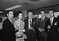 [Dentsu cocktail party, California, June 11, 1968]