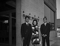 [Ajinomoto promotional visit to Rafu Shimpo, Los Angeles, California, June 15, 1968]