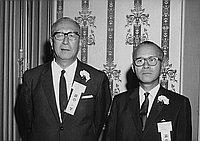 [Nippon Yusen Kaisha cocktail party at Ambassador Hotel, Los Angeles, California, August 21, 1968]