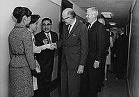 [Judge John F. Aiso swearing-in ceremony for State Courts of Appeal at Broadway Room 908, California, November 4, 1968]