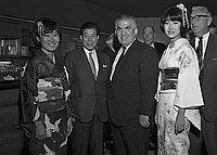 [Newsman from Japan, California, 1968]
