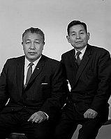 [Reverend Kimura, portrait, Los Angeles, California, 1968]