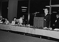 [Tenth anniversary of Sister City relations between Los Angeles and Nagoya, Japan at the Water & Power building, Los Angeles, California, March 21, 1969]
