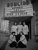 [Fifth Annual National JACL Nisei Bowling Tournament, Los Angeles, California, March 18, 1951]