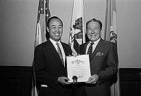 [Nagoya-Los Angeles Sister City tenth anniversary, Los Angeles, California, April 28, 1969]