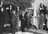 [Tenchosetsu celebration at residence of Consul General of Japan, Pasadena, California, April 29, 1969]