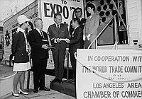 "[""Mini-Expo '70"" trailer, Los Angeles, California, July 11, 1969]"