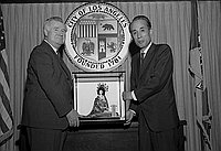 [Lt. Governor Kiichi Kawakami of Chiba, Japan at Mayor's Conference, Los Angeles, California, July 22, 1969]