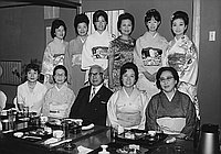 [Baido Kai at Kawafuku restaurant, Los Angeles, California, October 27, 1969]