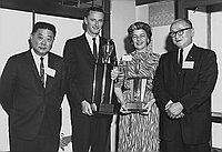 [Henry Ohye Trophy Race awards, California, 1969]