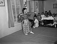[Azuma Japanese dance performance, Los Angeles, California, 1969]