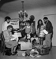 [Pioneer Project rummage sale, Los Angeles, California, March 27, 1969]