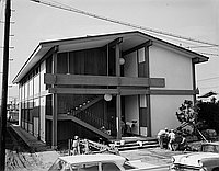 [Construction and dedication of Tenrikyo library and dojo, California, October 1969]