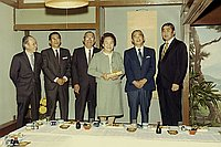 [Pacific Coast Fish retirement party for Mrs. Toshimei Hosozawa at Eigiku restaurant, Los Angeles, California, March 28, 1970]