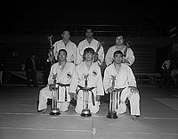 [1970 Amateur Athletic Union Judo National Championship tournament at California State College, Los Angeles, California, April 11, 1970]