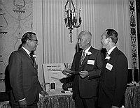 [Kureha Corporation of America opening party at the Biltmore Hotel, Los Angeles, California, June 10, 1970]