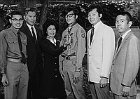[Boy Scout award presentation at Evergreen Baptist Church of Los Angeles, Los Angeles, California, June 14, 1970]