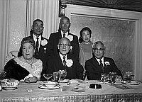 [Testimonial dinner honoring Kunsho award recipients Dr. Ryojun Kinoshita, Yaemon Minami, Shoji Nagumo and Shiroichi Koyama, at Biltmore Hotel, Los Angeles, California, October 16, 1970]
