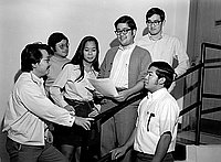 [Asian American Admission Program at Loyola University School of Law, Los Angeles, California, November 12, 1970]