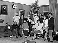 [Japanese Community Pioneer Center Christmas donation, Los Angeles, California, 1970]
