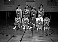 [Omega Sigma Taui-1 basketball team -- Rafu Bussan basketball team -- Baseball team, California, 1970]