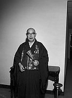 [New minister at Zenshuji, California, 1970]