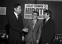 [Japanese Ameerican Republican installation dinner at Imperial Dragon, Los Angeles, California, January 24, 1971]