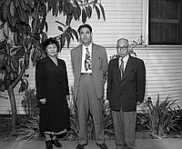 [Tadamichi Koga of Uyeno Zoo in Tokyo with Dr. Ban and wife]