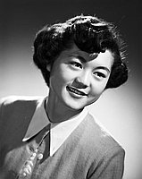[Jane Masumura, head and shoulder portrait, Los Angeles, California, January 20, 1953]