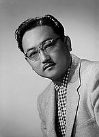 [Tomo Ogita, head and shoulder portrait, Los Angeles, California, March 31, 1953]