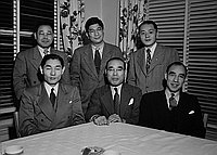 [Gaimusho party, March 2, 1950]