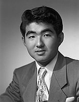 [Burt Yamasaki, Boys State delegate, head and shoulder portrait, California, May 22, 1953]