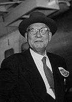 [Mr. Nomura of Japan at Los Angeles International Airport, California, October 20, 1953]