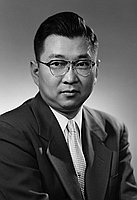 [Dr. George Kambara, half-portrait, Los Angeles, California, February 24, 1954]