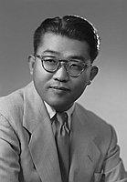 [Dr. Jiro Shintani, half-portrait, Los Angeles, California, February  26, 1954]